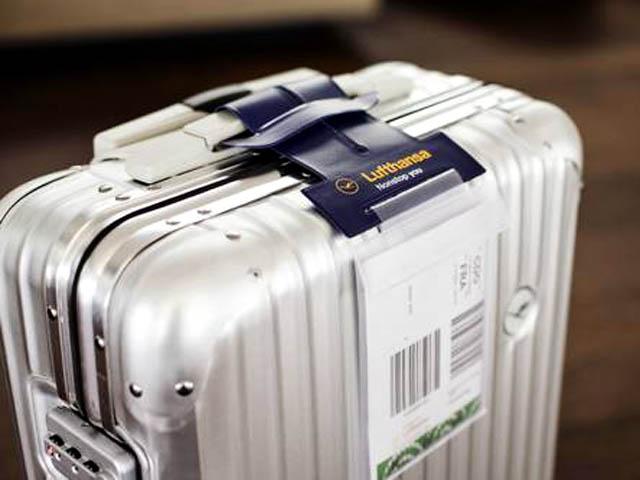 Lufthansa Imprimez Vous Meme L Etiquette Bagage Air Journal