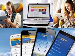 air-journal_Lufthansa phone tablette