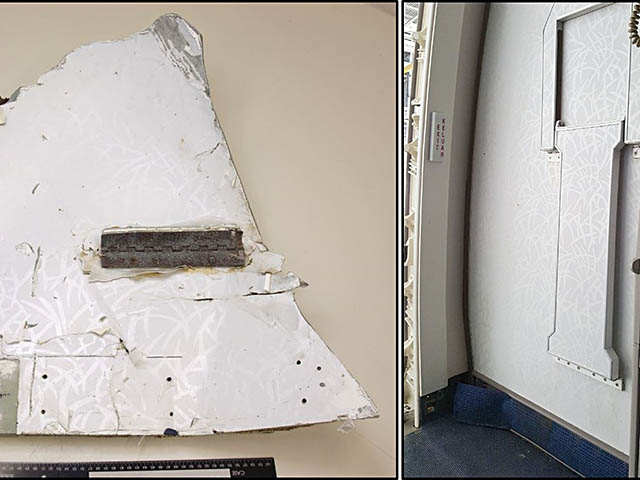 air-journal_MH370 Malaysia Airlines débris 3@ATSB