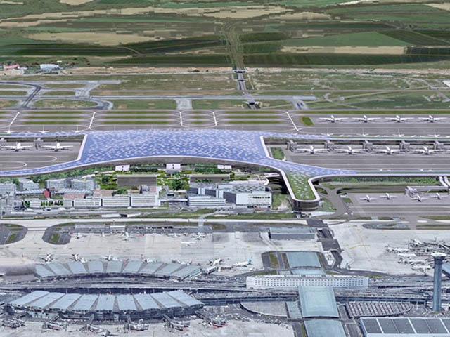 Paris-CDG : pas de T4 mais un terminal hydrogène ? - Air-Journal