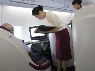 air-journal_Qatar A380 CDG BKK Affaires2©Olivier Nilsson