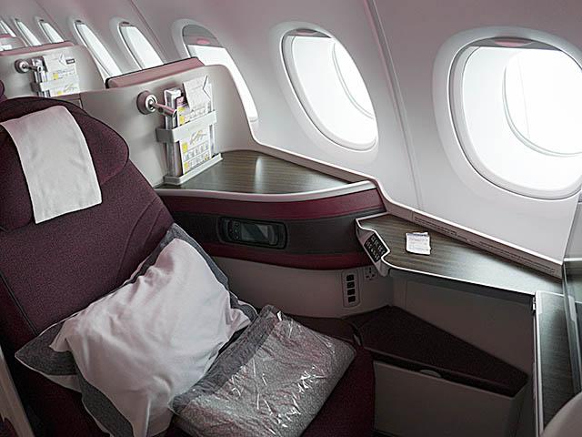 Reportage A380 De Qatar Airways En Classe Affaires Air Journal