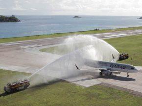 Qatar Airways   retour aux Seychelles, A380 à Melbourne 2f247fb079e