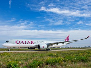 air-journal_Qatar Airways A350 first flight 1
