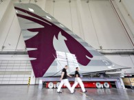 air-journal_Qatar Airways A380 tail