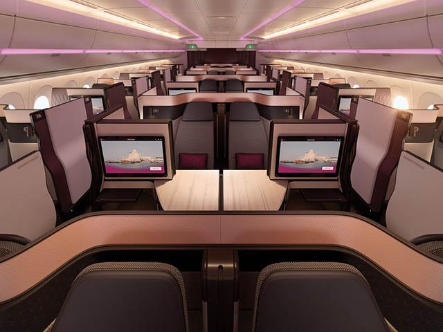 Qatar Airways Presente Sa Nouvelle Classe Affaires Modulable Video