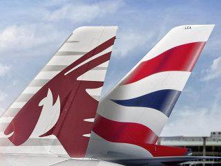 Qatar airways a à londres coentreprise avec british airways