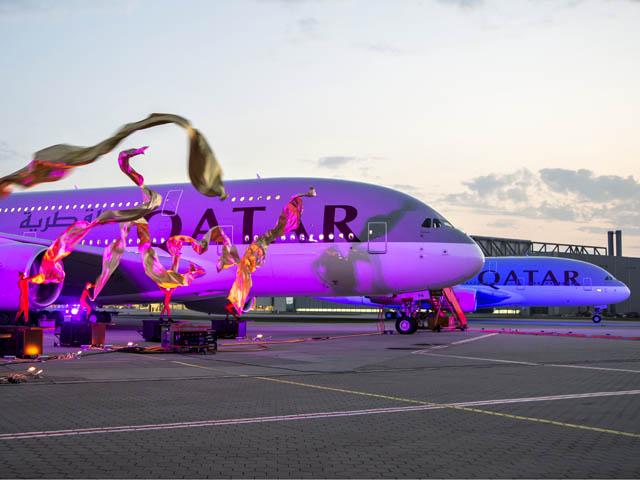 Qatar Airways tient son Airbus A380   Air Journal d887e6937b3