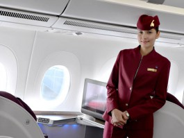 air-journal_Qatar_Airways_A350-900 Affaires cabin_crew