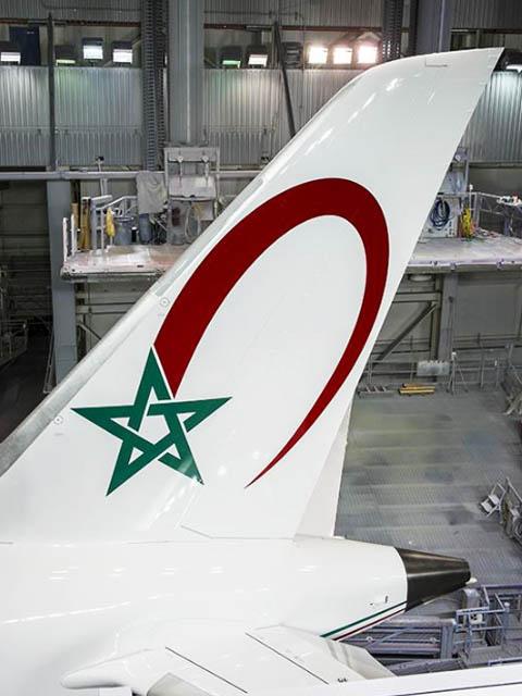 royal air maroc receptionne son premier embraer e 190