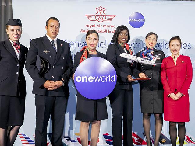 Royal Air Maroc Est Membre De L Alliance Oneworld Air Journal