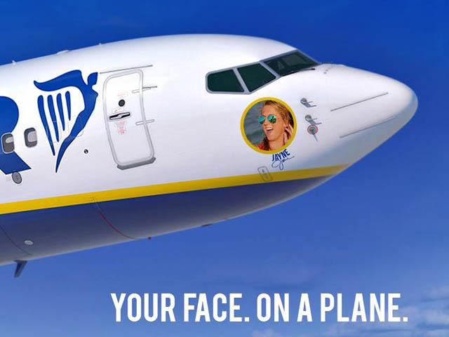 air journal Ryanair 30 names Ryanair : progrès sur Facebook et concours en cours