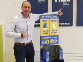 magasin en ligne 18c67 b0c1c Ryanair : le bagage de cabine interdit en cabine à partir du ...