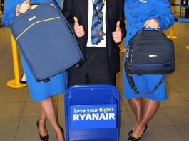 ryanair le bagage en soute moins cher l a roport air journal. Black Bedroom Furniture Sets. Home Design Ideas