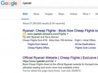 air-journal_Ryanair edreams google