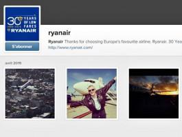 air-journal_Ryanair instagram