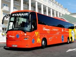 Ryanair un bus low cost beauvais disneyland paris - Navette paris porte maillot aeroport de beauvais ...