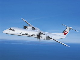 air-journal_Ryukyu Air Commuter Q400 combi cargo