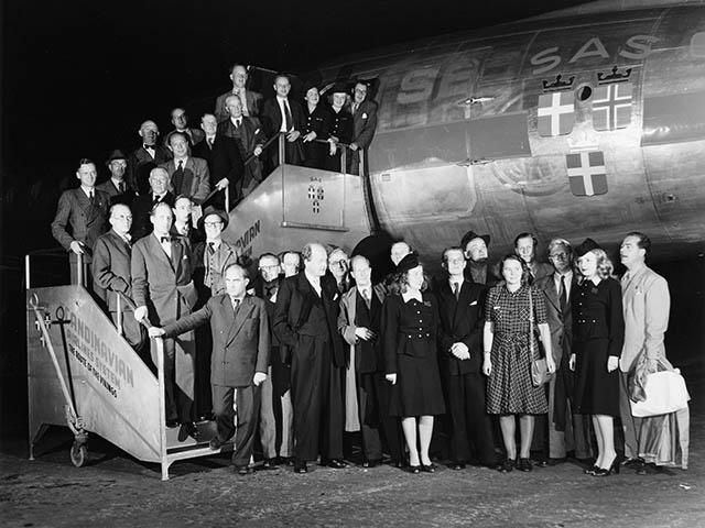 air-journal_SAS Scandinavian 70e anniversaire2