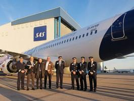 air-journal_SAS Scandinavian A320neo Stockholm