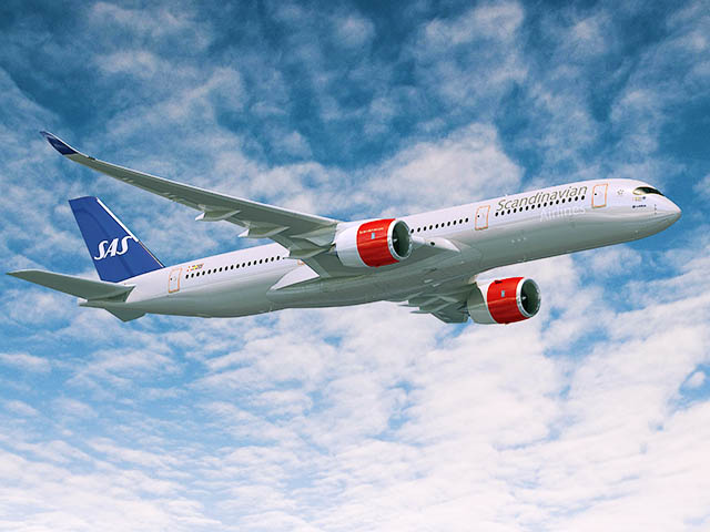 air-journal_SAS Scandinavian A350-900