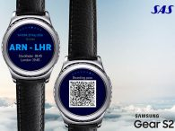 air-journal_SAS Scandinavian Samsung Gear2 app
