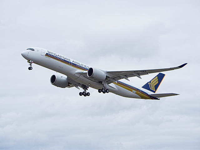 air-journal_Singapore Airlines A350-900 1er vol