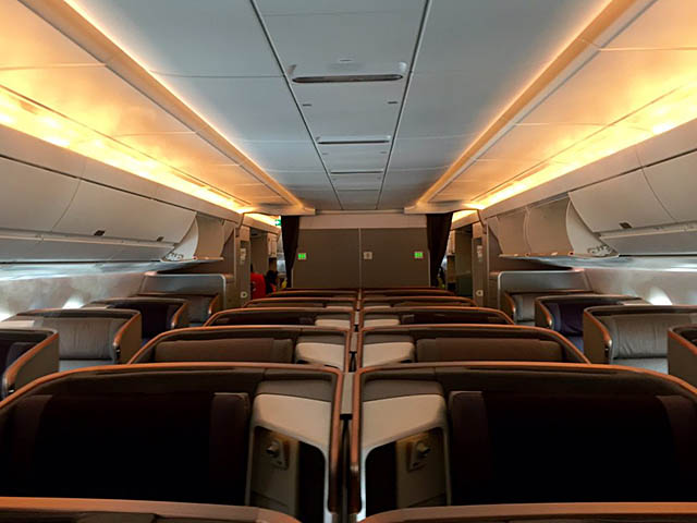 air-journal_Singapore Airlines A350-900 affaires