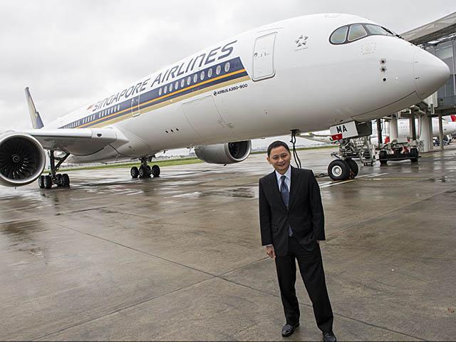 air-journal_Singapore Airlines A350-900 livraison5