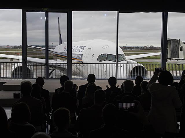 air-journal_Singapore Airlines A350-900 livraison7