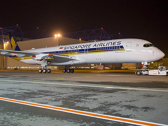 air-journal_Singapore Airlines A350-900 paint