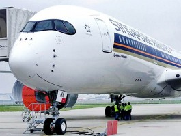 air-journal_Singapore Airlines A350-900 tarmac
