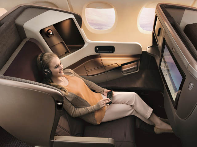Singapore airlines r am nage ses boeing 777 300er air for Interieur boeing 777 300er air france