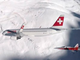 air-journal_Swiss A320 patrouille suisse