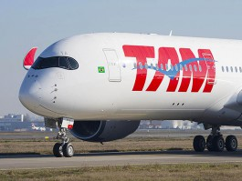 air-journal_TAM Airlines A350-900 1er volB