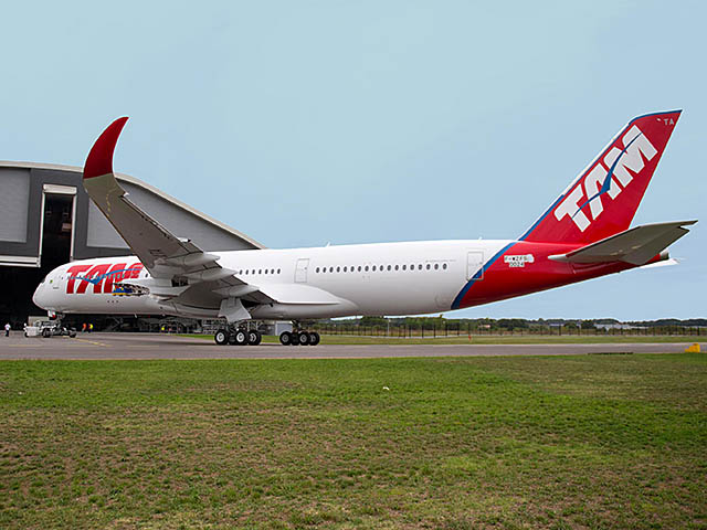 air-journal_TAM Airlines A350-900 peinture