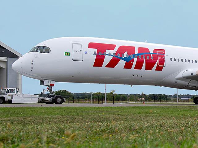 air-journal_TAM Airlines A350-900 peinture2