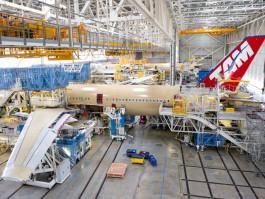 air-journal_TAM Brazilian A350-900 usine FAL