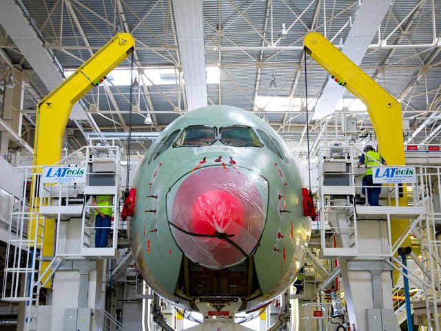 air-journal_TAM Brazilian A350 FAL2