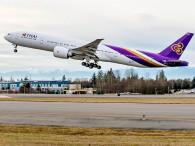 air-journal_Thai Airways 777-300ER takeoff