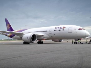 air-journal_Thai Airways 787 livraison