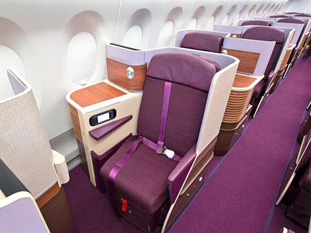 air-journal_Thai Airways A350-900 affaires