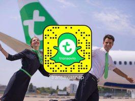air-journal_Transavia Snapchat