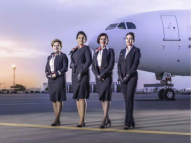 Nouvel Uniforme Pour Les Hotesses De Tunisair Air Journal