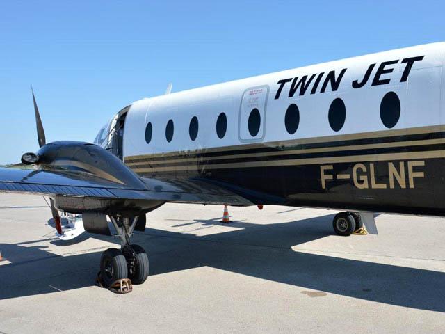 twin jet inaugure son metz nancy bordeaux air journal. Black Bedroom Furniture Sets. Home Design Ideas