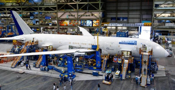 air-journal_United 787 dreamliner usine