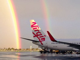 air-journal_Virgin Australia 737 rainbow