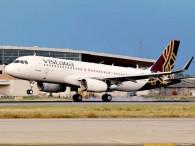 air-journal_Vistara A320 landing Delhi