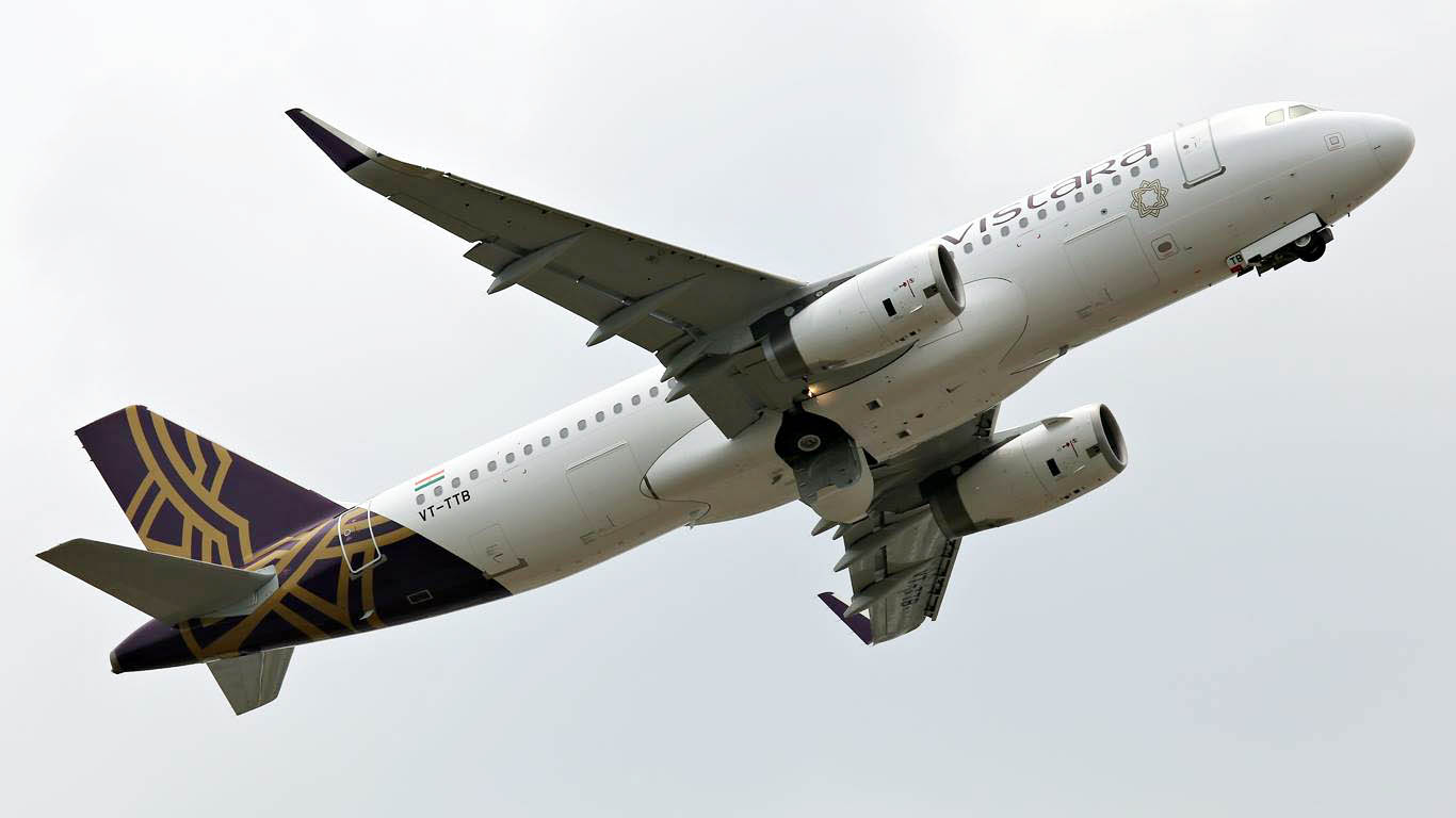 Vistara d voile son r seau lance la premium en inde air for Vol interieur inde