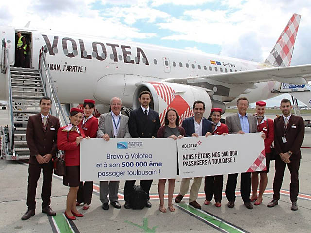 Volotea Plus D Un Demi Million De Passagers Toulouse